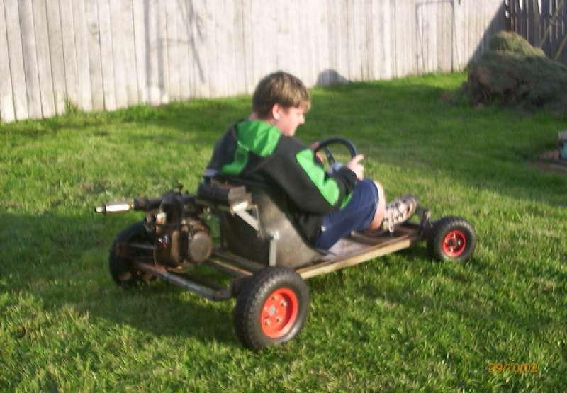 Our Go-Kart